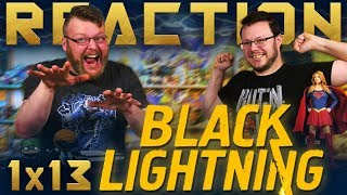 Black Lightning 1x13 FINALE REACTION!!