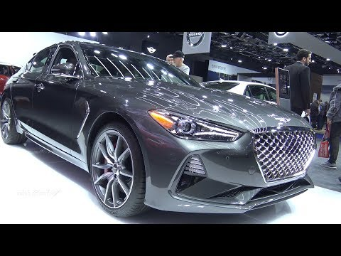 2019 Genesis G70 Exterior And Interior Walkaround 2018 Montreal Auto Show