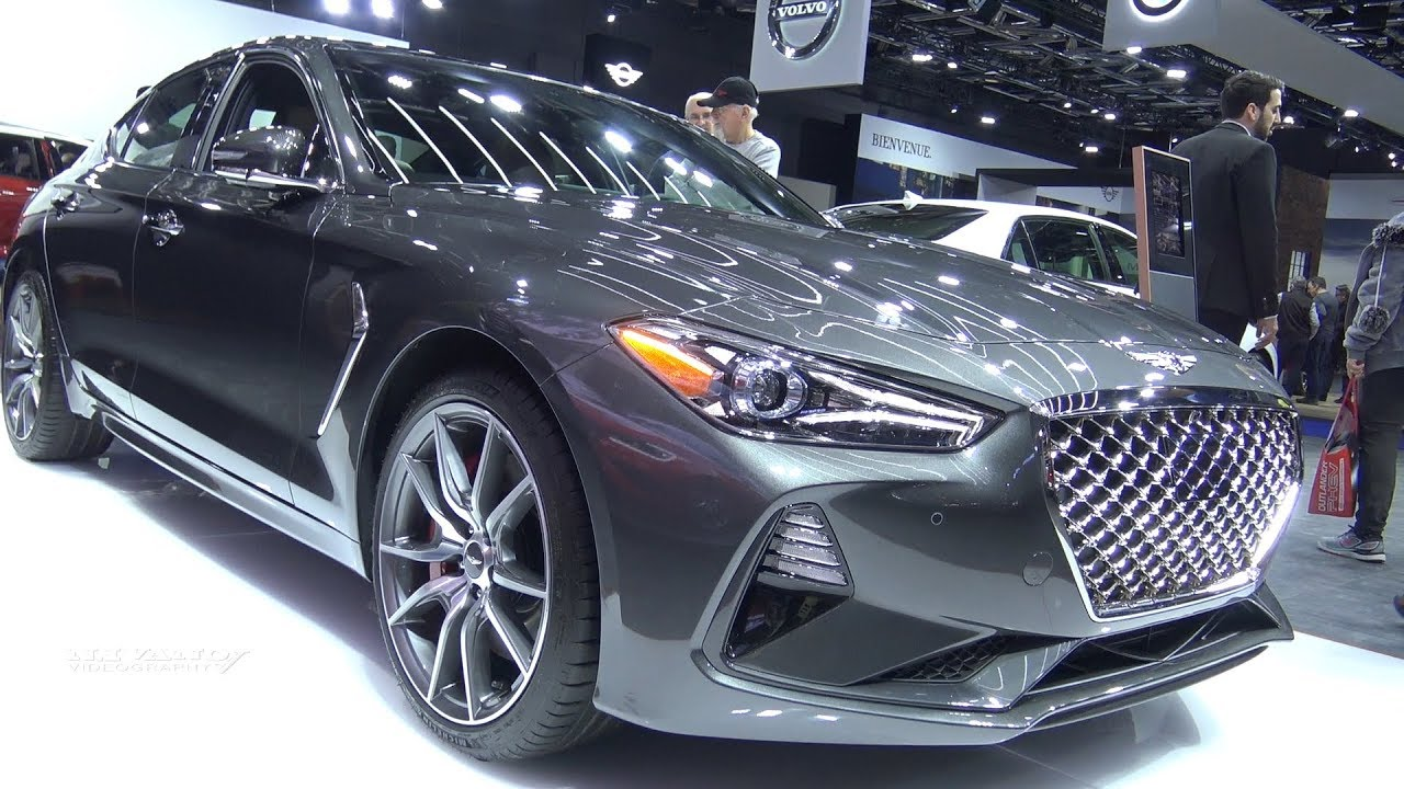 2019 Genesis G70 Exterior And Interior Walkaround 2018 Montreal
