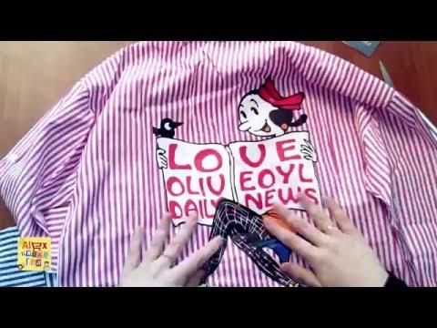 Женская рубашка фирмы DiV с Aliexpress