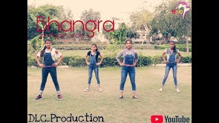 Bhangra On Poplin Song || diljit dosanjh || DLC_Production By_ Manish juyal