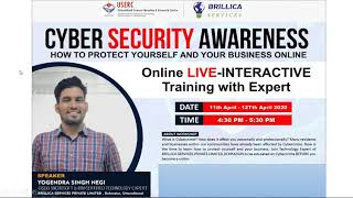 Day 1- Cyber Security Awareness Programme