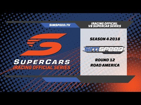 iRacing Official V8 Supercar Series   Round 12   Road America
