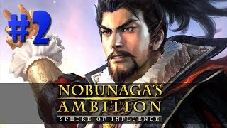 Nobunaga's Ambition: Sphere of Influence - PRIMEIRA GUERRA!!! #2 (Gameplay/PC/PTBR)HD