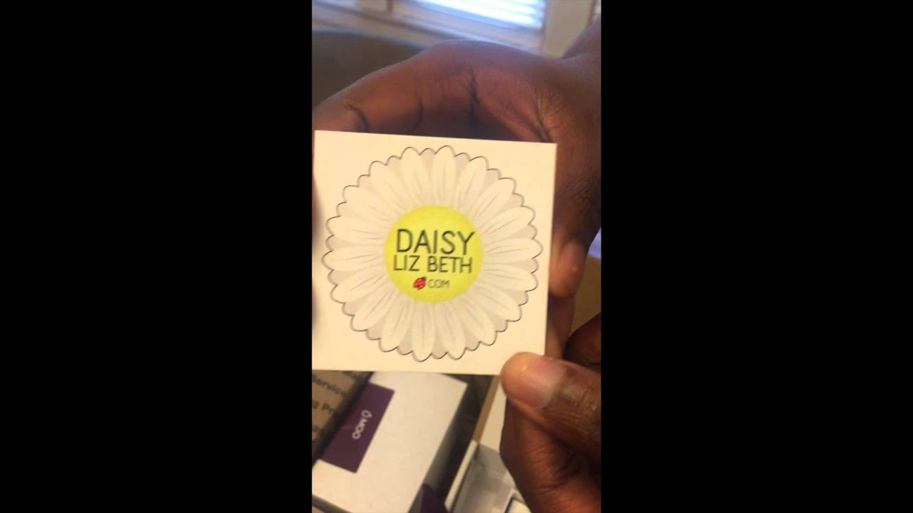 moo business cards review by daisylizbeth youtube