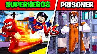 superheros-vs-prisoners-in-roblox-mad-city