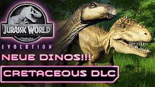 Jurassic World Evolution Deutsch Neue Dinos Cretaceous DLC Deutsch German #7