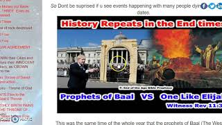 April 19th-May Day. 13 Day Satanic Feast of the Beast Baal. Bloodshed, Attacks.