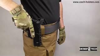 CZ 75 SP-01 Shadow CZ Police Professional Duty Premium Holster w/ 3 Safety