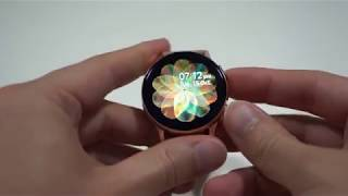 Samsung Galaxy Watch Active2 Rose Gold LTE 40mm Unboxing