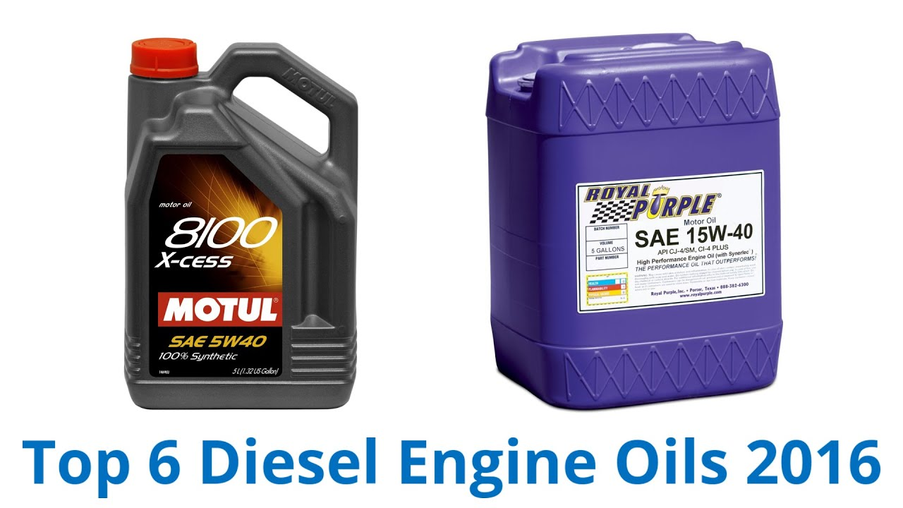 6 Best Diesel Engine Oils 2016