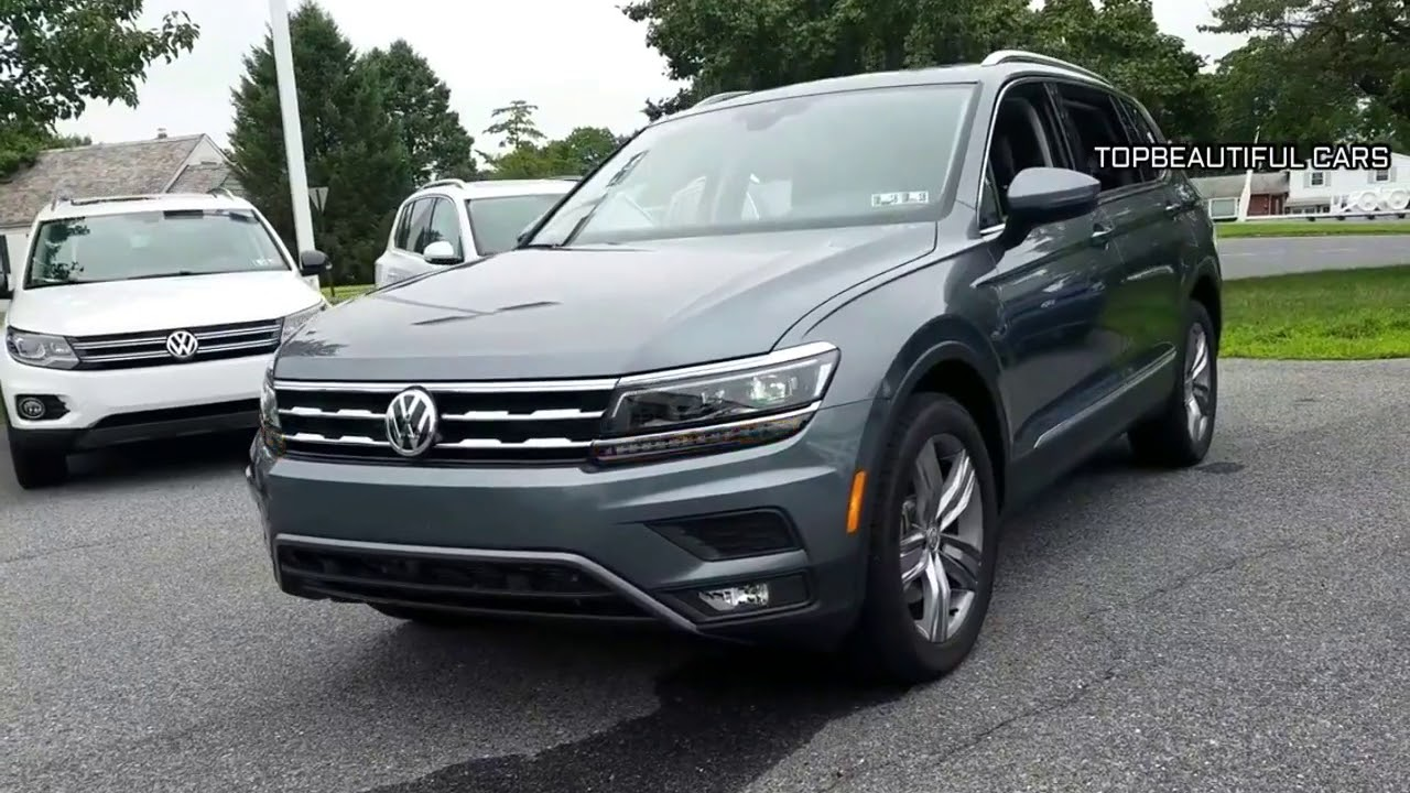 2019 Volkswagen Tiguan Allspace Review And Testdrive Youtube