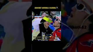 Конфликт Овечкина и Малкина🏒😱🤯 shorts хоккей
