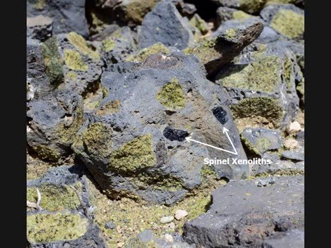 The Geology of Peridot Mesa, Arizona