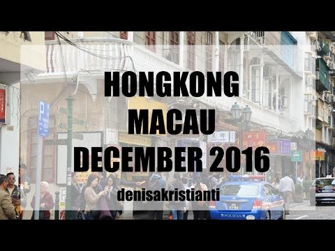 Travel Diary | Hong Kong - Macau Winter 2016 | Denisa Kristianti