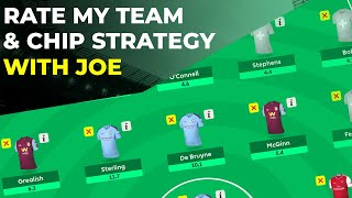 FPL GAMEWEEK 30+ RATE MY TEAM AND CHIP STRATEGY WITH JOE