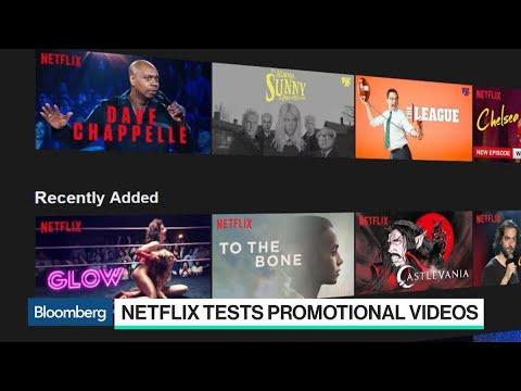 Netflix Explores New Ways to Promote Its Content
