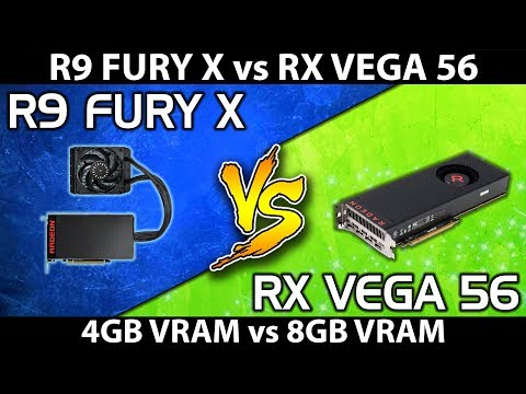 RX Vega 56 Vs R9 Fury X || Comparison