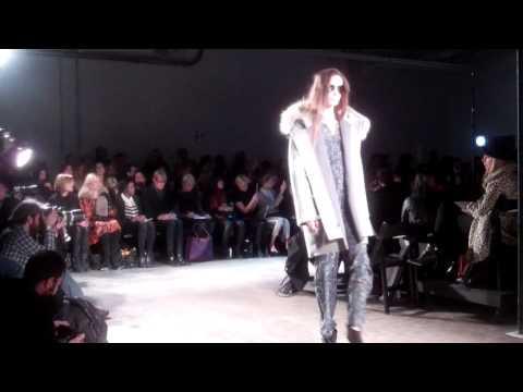 Yigal Azrouel Fall Winter 2012 Show. Mercedes-Benz Fashion Week.