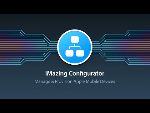 Introduction to iMazing Configurator