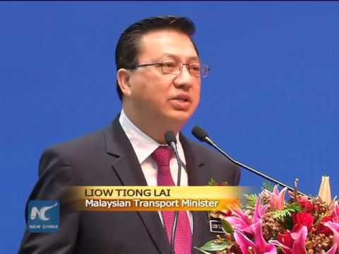China high-speed railway showcase in Malaysia