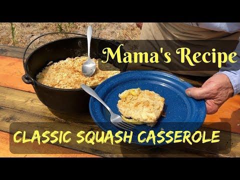 Squash Casserole - Cheesy Traditional Recipe