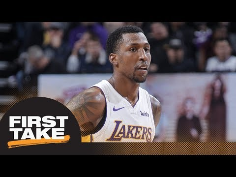 Stephen A. not on board with KCP playing while serving jail sentence | First Take | ESPN