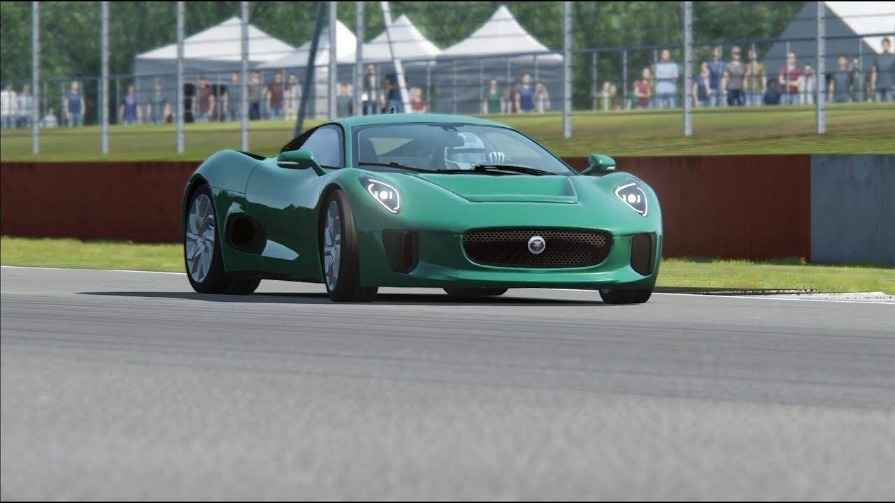Jaguar C X75 Top Gear Testing At Silverstone