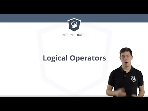 R Tutorial - Logical Operators And Vectors In R