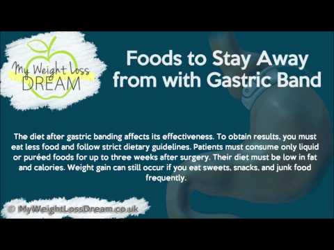 foods to stay away from with gastric band