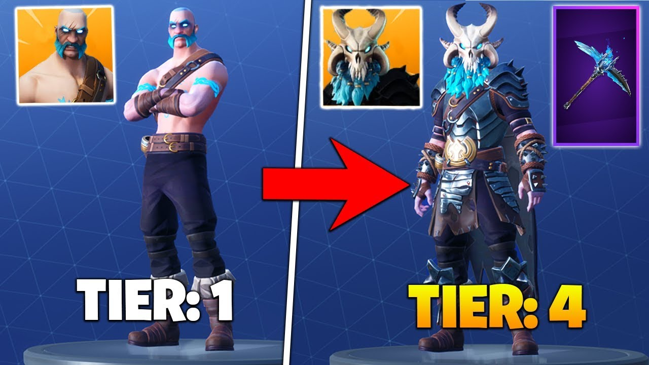 fortnite how to get tier 2