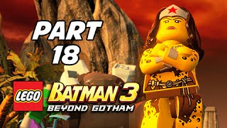 Lego Batman 3 Beyond Gotham Walkthrough Part 18 - Need for Greed (Lets Play Commentary)