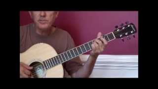 Something in the way she moves - James Taylor guitar lesson