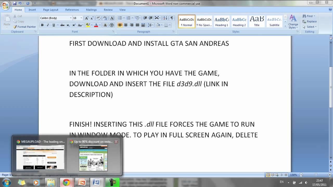 Скачать файл d3d9 dll