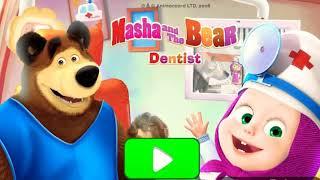 ماشا الدكتورة تعالج الحيوانات😆masha and the bear