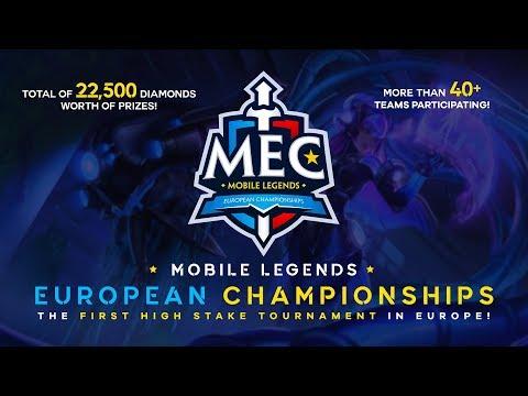 MEC - Mobile Legends European Championships | Day 2 - Bracket Eliminations