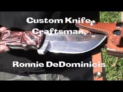 Custom Knife Making of the Texas Rattler