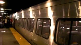 Amtrak Acela Express At Back Bay Station On Track 3