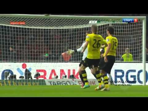 Borussia Dortmund vs Bayern Munich 0 2 ~ All Goals & Full Highlights DFB Pokal 17 05 2014 HD