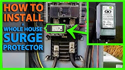 How To Install a Whole House Surge Protector in your Main Panel