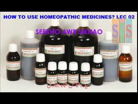 study homeopathy online PART 2