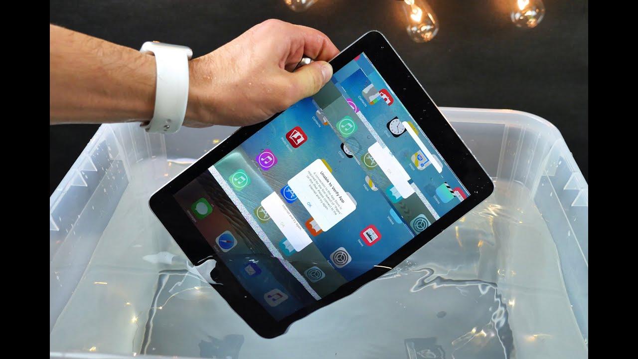 "iPad Pro 9.7"" Water Test"