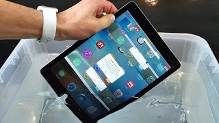 iPad Pro 9.7' Water Test - Waterproof or Water Resistant?