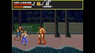 Streets of Rage - Streets of Rage (Genesis) - Gameplay - Round 3 - User video