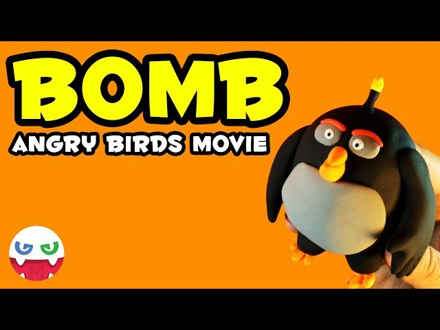 How to Make a BOMB with Clay [Angry Brids Movie]