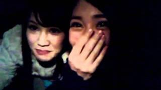 まりやんぬちゃんと! 握手会終わったばっかでテンション高い(°Θ°) 2012...