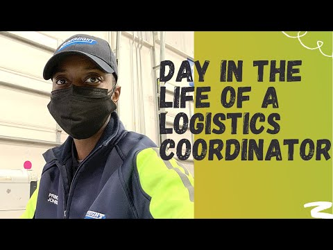 VLOG Day In The Life of A Female Logistics Coordinator  Spend The Day with Me #logistics #NJ