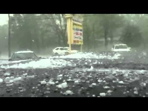 Hail Storm in Spartanburg Sc 4-5-12