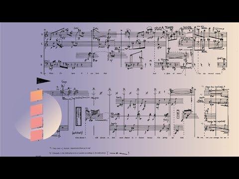 Barbara Kolb — Three Place Settings (1968) [w/ score]