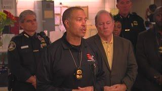 Detroit Police Chief James Craig speaks on death of officer